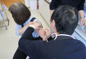 施設職員新型コロナウイルスワクチン接種第一弾